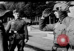 Image of German troops decorated Paris France, 1940, second 32 stock footage video 65675053121
