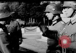 Image of German troops decorated Paris France, 1940, second 33 stock footage video 65675053121