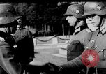 Image of German troops decorated Paris France, 1940, second 34 stock footage video 65675053121