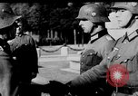 Image of German troops decorated Paris France, 1940, second 35 stock footage video 65675053121