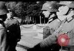 Image of German troops decorated Paris France, 1940, second 36 stock footage video 65675053121