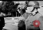 Image of German troops decorated Paris France, 1940, second 37 stock footage video 65675053121