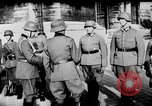 Image of German troops decorated Paris France, 1940, second 38 stock footage video 65675053121