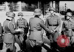 Image of German troops decorated Paris France, 1940, second 39 stock footage video 65675053121