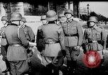 Image of German troops decorated Paris France, 1940, second 41 stock footage video 65675053121