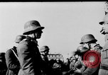Image of German troops decorated Paris France, 1940, second 43 stock footage video 65675053121