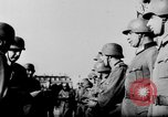 Image of German troops decorated Paris France, 1940, second 46 stock footage video 65675053121