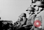 Image of German troops decorated Paris France, 1940, second 47 stock footage video 65675053121