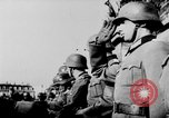 Image of German troops decorated Paris France, 1940, second 48 stock footage video 65675053121