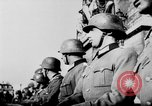 Image of German troops decorated Paris France, 1940, second 49 stock footage video 65675053121