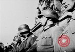 Image of German troops decorated Paris France, 1940, second 50 stock footage video 65675053121