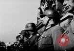 Image of German troops decorated Paris France, 1940, second 51 stock footage video 65675053121