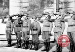 Image of German troops decorated Paris France, 1940, second 58 stock footage video 65675053121