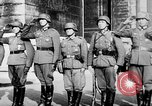 Image of German troops decorated Paris France, 1940, second 62 stock footage video 65675053121