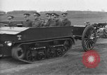 Image of Live fire demonstrations at British Army Royal School of Artillery Salisbury England United Kingdom, 1936, second 13 stock footage video 65675053131