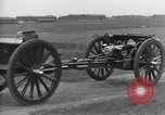 Image of Live fire demonstrations at British Army Royal School of Artillery Salisbury England United Kingdom, 1936, second 15 stock footage video 65675053131