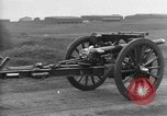 Image of Live fire demonstrations at British Army Royal School of Artillery Salisbury England United Kingdom, 1936, second 16 stock footage video 65675053131