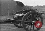 Image of Live fire demonstrations at British Army Royal School of Artillery Salisbury England United Kingdom, 1936, second 17 stock footage video 65675053131