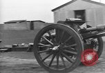 Image of Live fire demonstrations at British Army Royal School of Artillery Salisbury England United Kingdom, 1936, second 19 stock footage video 65675053131