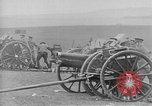 Image of Live fire demonstrations at British Army Royal School of Artillery Salisbury England United Kingdom, 1936, second 45 stock footage video 65675053131