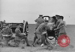 Image of Live fire demonstrations at British Army Royal School of Artillery Salisbury England United Kingdom, 1936, second 54 stock footage video 65675053131