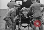 Image of Live fire demonstrations at British Army Royal School of Artillery Salisbury England United Kingdom, 1936, second 56 stock footage video 65675053131