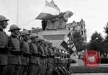 Image of King Alexander I monument Yugoslavia, 1936, second 1 stock footage video 65675053136