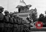Image of King Alexander I monument Yugoslavia, 1936, second 4 stock footage video 65675053136