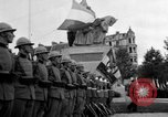 Image of King Alexander I monument Yugoslavia, 1936, second 5 stock footage video 65675053136