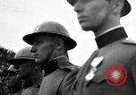 Image of King Alexander I monument Yugoslavia, 1936, second 39 stock footage video 65675053136