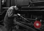 Image of Steam Locomotive Gunnison Colorado USA, 1949, second 30 stock footage video 65675053162