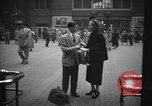 Image of Pennsylvania Railroad Station New York City USA, 1940, second 54 stock footage video 65675053167