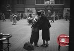Image of Pennsylvania Railroad Station New York City USA, 1940, second 56 stock footage video 65675053167