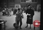 Image of Pennsylvania Railroad Station New York City USA, 1940, second 59 stock footage video 65675053167