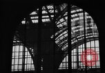 Image of Pennsylvania Railroad Station New York City USA, 1940, second 33 stock footage video 65675053170