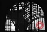 Image of Pennsylvania Railroad Station New York City USA, 1940, second 36 stock footage video 65675053170