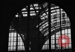 Image of Pennsylvania Railroad Station New York City USA, 1940, second 39 stock footage video 65675053170