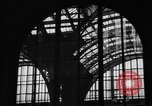 Image of Pennsylvania Railroad Station New York City USA, 1940, second 42 stock footage video 65675053170