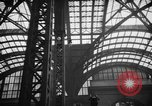 Image of Pennsylvania Railroad Station New York City USA, 1940, second 58 stock footage video 65675053170