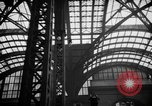 Image of Pennsylvania Railroad Station New York City USA, 1940, second 59 stock footage video 65675053170