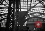 Image of Pennsylvania Railroad Station New York City USA, 1940, second 60 stock footage video 65675053170