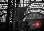 Image of Pennsylvania Railroad Station New York City USA, 1940, second 61 stock footage video 65675053170