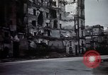 Image of demolished buildings Naples Italy, 1944, second 35 stock footage video 65675053183