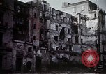 Image of demolished buildings Naples Italy, 1944, second 40 stock footage video 65675053183