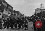 Image of Armenian troops parade Kars Armenia, 1919, second 3 stock footage video 65675053209