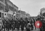 Image of Armenian troops parade Kars Armenia, 1919, second 5 stock footage video 65675053209