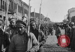 Image of Armenian troops parade Kars Armenia, 1919, second 9 stock footage video 65675053209