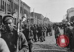 Image of Armenian troops parade Kars Armenia, 1919, second 10 stock footage video 65675053209