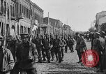 Image of Armenian troops parade Kars Armenia, 1919, second 11 stock footage video 65675053209