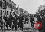 Image of Armenian troops parade Kars Armenia, 1919, second 13 stock footage video 65675053209